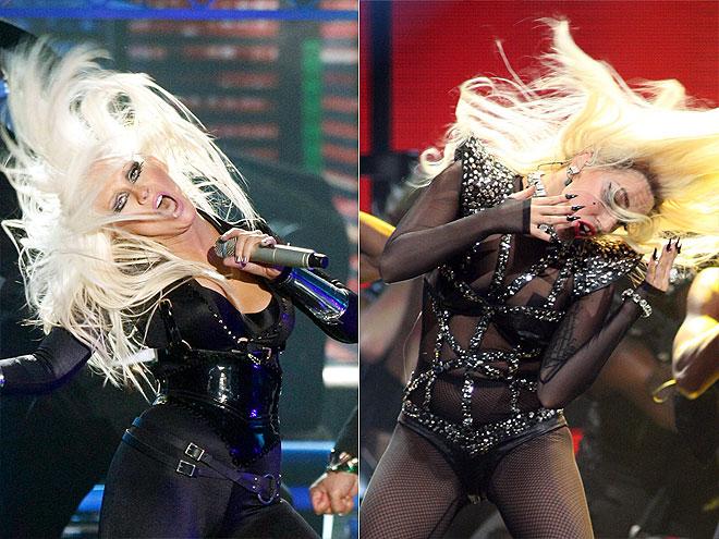 LADY GAGA  photo | Christina Aguilera, Lady Gaga