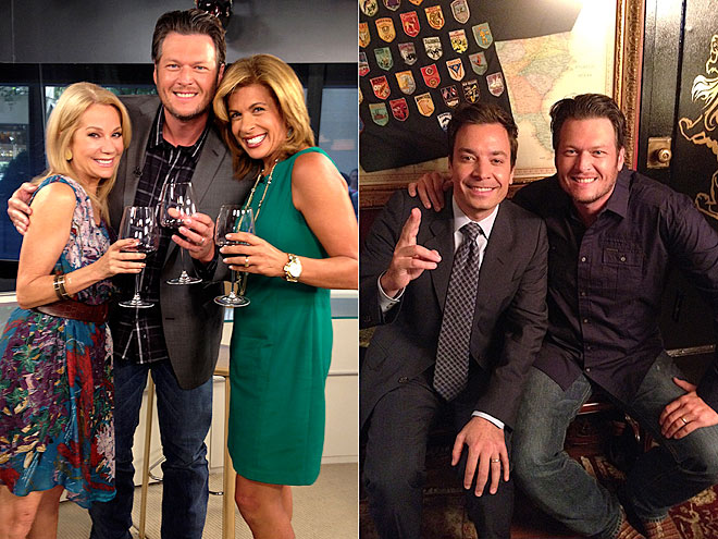COCKTAIL HOUR photo | Blake Shelton, Hoda Kotb, Jimmy Fallon, Kathie Lee Gifford