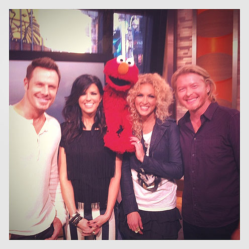 HELLO ELMO photo | Little Big Town