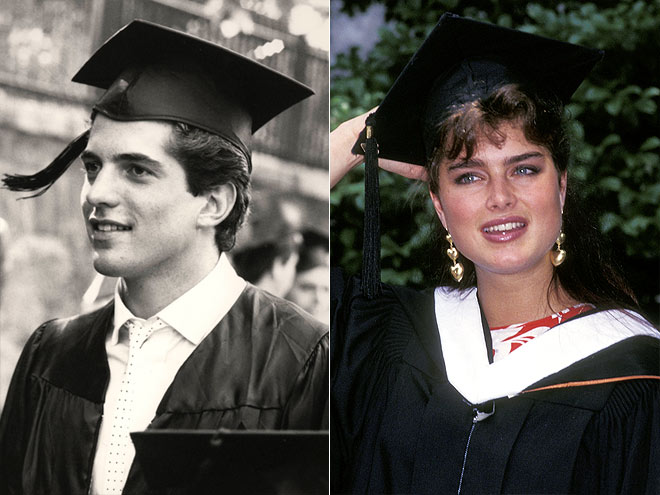 BROOKE & JFK JR. photo | Brooke Shields, John F. Kennedy Jr.