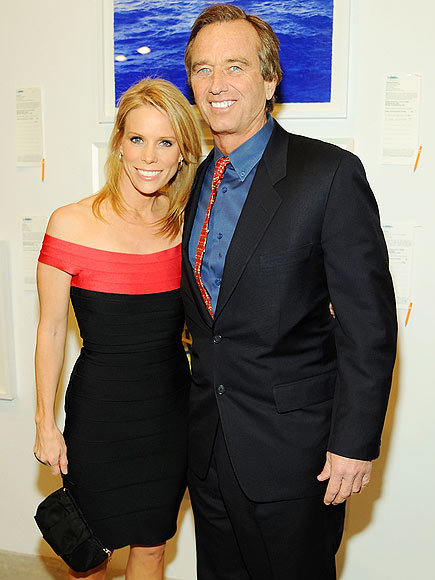 CHERYL & RFK JR. photo | Cheryl Hines