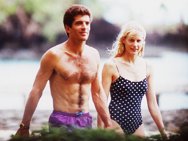 DARYL & JFK JR. photo | Daryl Hannah, John F. Kennedy Jr.