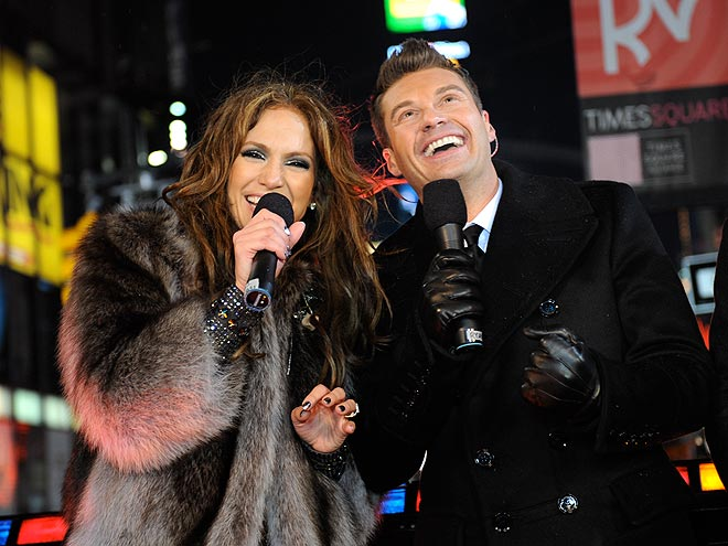 2010: J.LO & RYAN photo | Jennifer Lopez, Ryan Seacrest