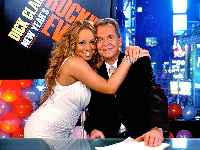 2006: MARIAH CAREY photo | Dick Clark, Mariah Carey