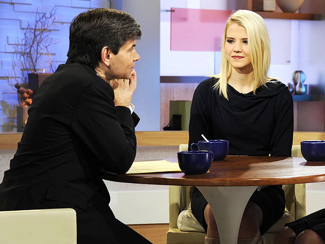A VOCAL ADVOCATE  photo | Elizabeth Smart, George Stephanopoulos