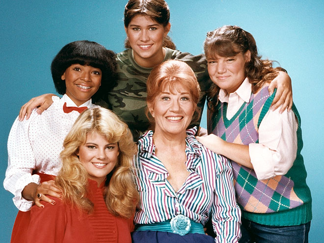 LISA WHELCHEL photo | Charlotte Rae, Kim Fields, Lisa Whelchel, Mindy Cohn, Nancy McKeon