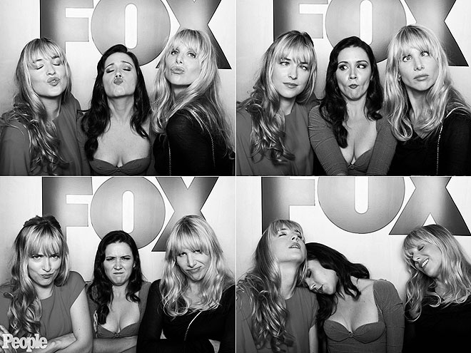 DAKOTA JOHNSON, SHANNON WOODWARD & LUCY PUNCH photo | Lucy Punch, Shannon Woodward