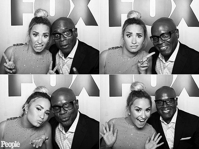 DEMI LOVATO & L.A. REID photo | Antonio \L.A.\ Reid, Demi Lovato