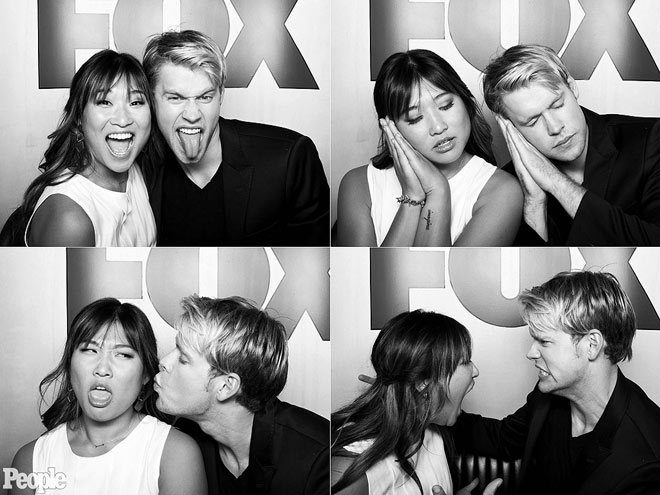 JENNA USHKOWITZ & CHORD OVERSTREET photo | Chord Overstreet, Jenna Ushkowitz