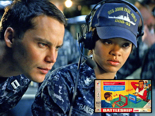 BATTLESHIP photo | Rihanna, Taylor Kitsch