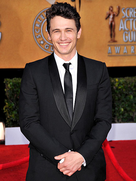 BLACK-TIE BABE photo | James Franco