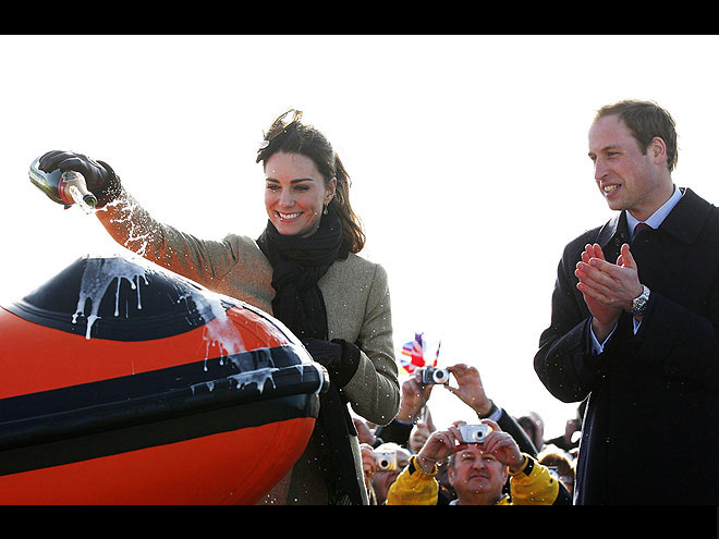 TOAST OF THE TOWN photo | Kate Middleton, Prince William