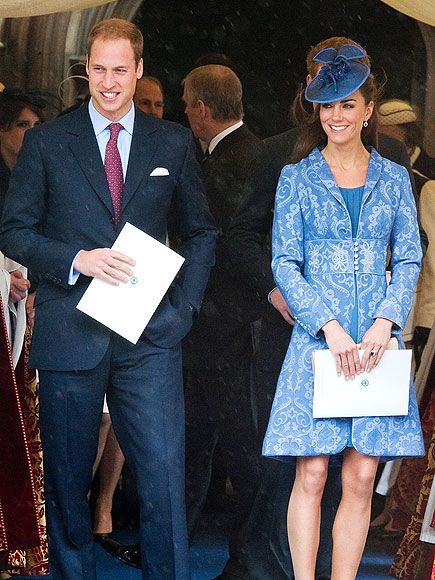 BEAUTIFUL IN BLUE photo | Kate Middleton, Prince William