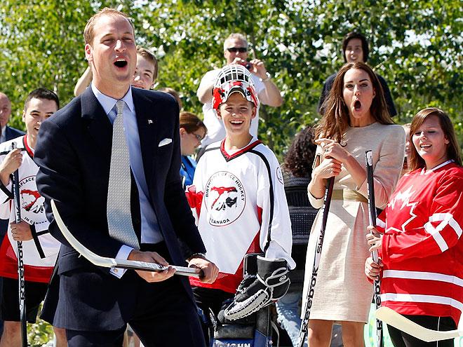 GAME ON photo | Kate Middleton, Prince William