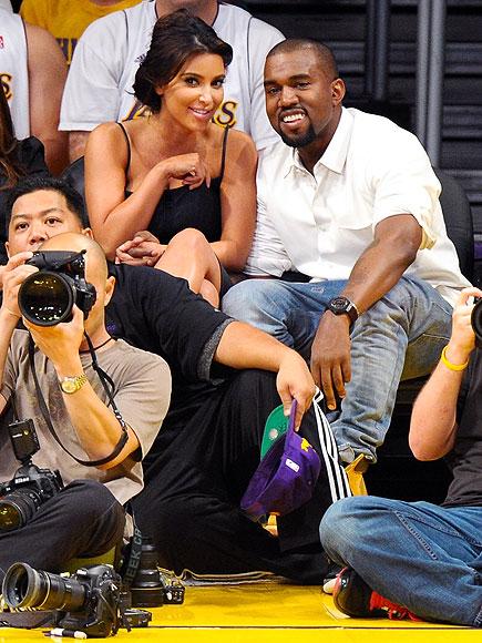 LOS ANGELES photo | Kanye West, Kim Kardashian