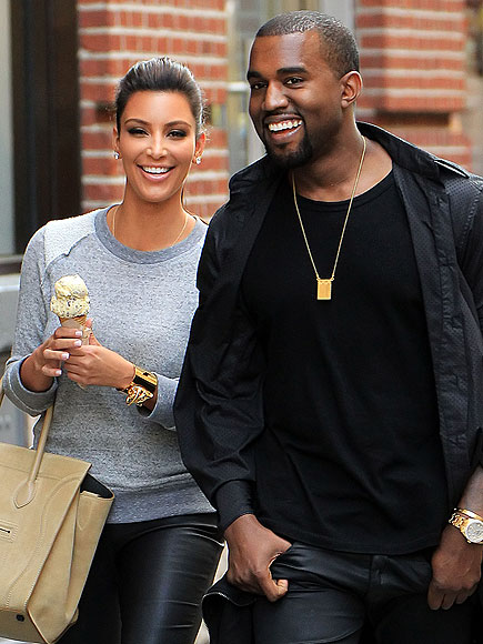 NEW YORK photo | Kanye West, Kim Kardashian