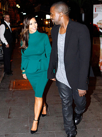 ROME photo | Kanye West, Kim Kardashian