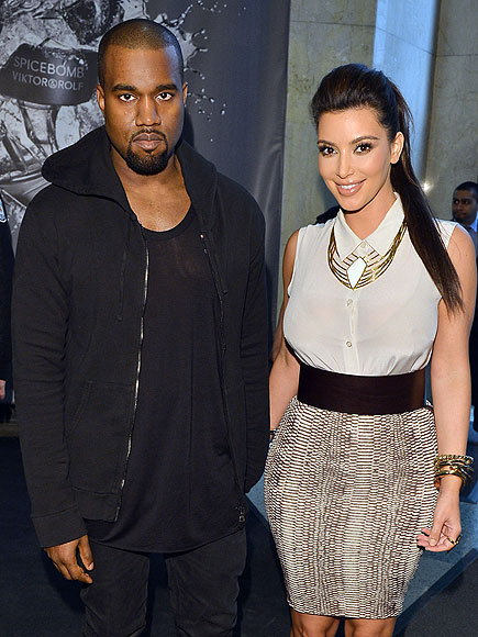 TORONTO photo | Kanye West, Kim Kardashian