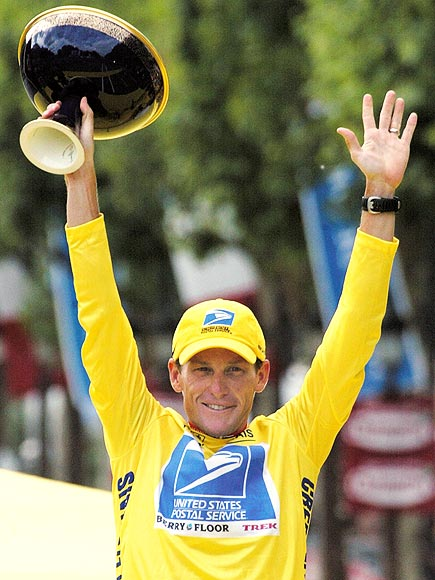 1. SEVEN IN A ROW photo | Lance Armstrong