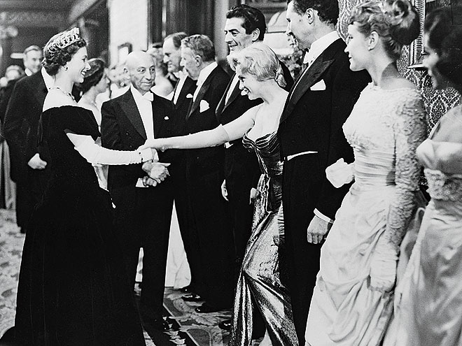 HER ROYAL AUDIENCE photo | Marilyn Monroe, Queen Elizabeth II