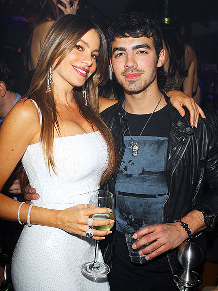 QUITE A CONTRAST! photo | Joe Jonas