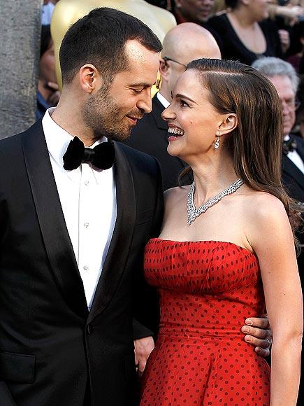 Натали Портман с мужем
