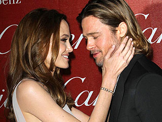 Stars Party in Palm Springs! | Angelina Jolie, Brad Pitt