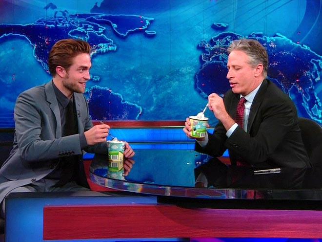 5. BREAKUPS FEEL LIKE THE END OF THE WORLD photo | Jon Stewart, Robert Pattinson
