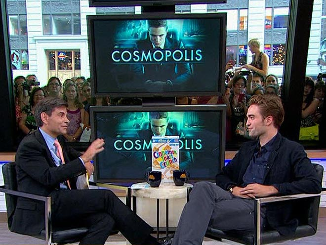 3. HE LIKES CINNAMON TOAST CRUNCH photo | Robert Pattinson