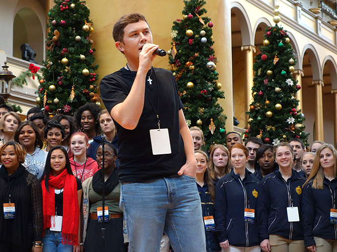 GETTING VOCAL photo | Scotty McCreery