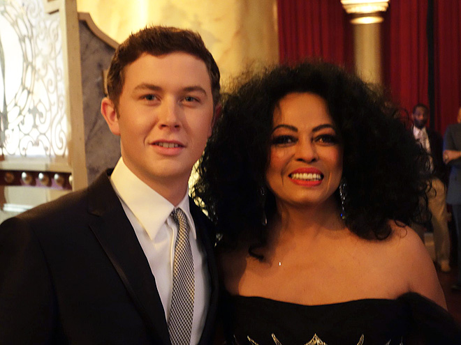 SUPREME BEING photo | Diana Ross, Scotty McCreery