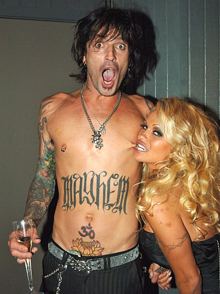 PAM & TOMMY photo | Pamela Anderson, Tommy Lee