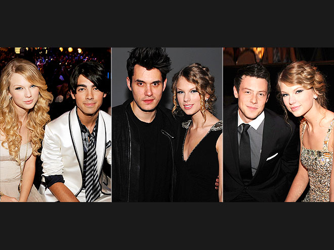 3. HIT THE RED CARPET photo | Cory Monteith, Joe Jonas, John Mayer, Taylor Swift