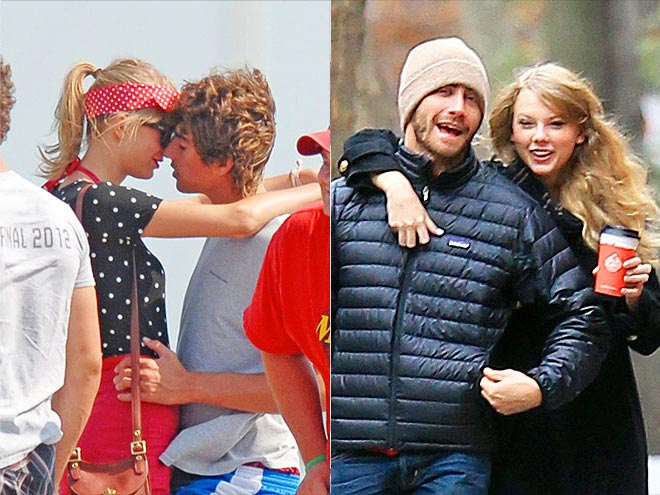 2. ... BUT PDA IS A-OK photo | Jake Gyllenhaal, Taylor Swift