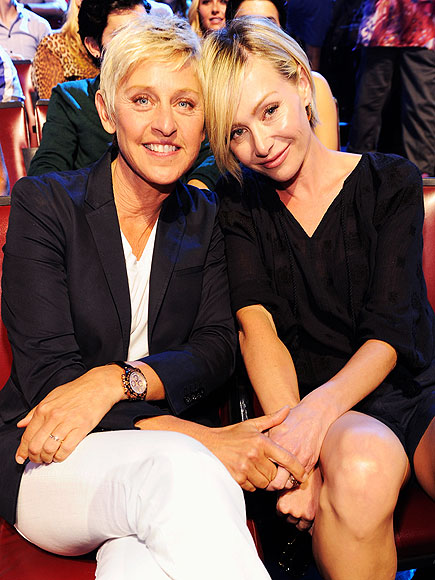 PERFECT MATCH photo | Ellen DeGeneres, Portia de Rossi