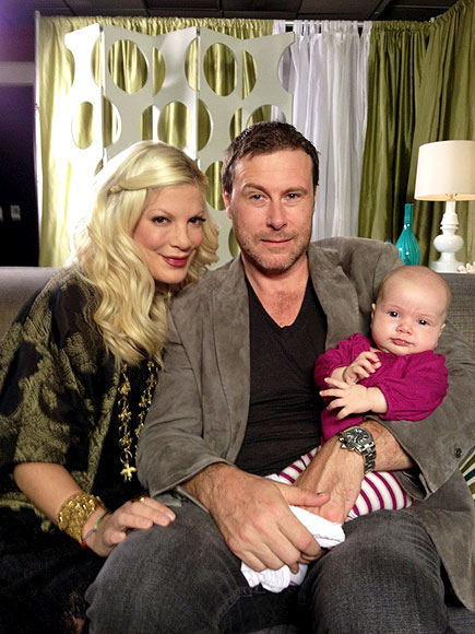 BABE IN ARMS  photo | Tori Spelling