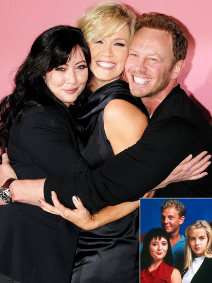 BEVERLY HILLS, 90210 photo | Ian Ziering, Jennie Garth, Shannen Doherty