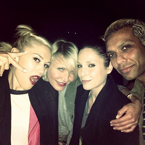 GWEN & CAMERON  photo | Cameron Diaz, Gwen Stefani, Tony Kanal