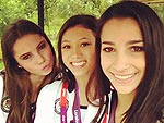 London Uncovered: Olympians' Personal Pics | Aly Raisman, Kyla Ross, McKayla Maroney