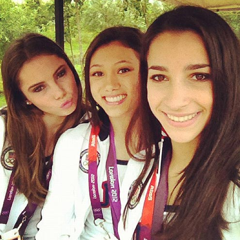 ALY RAISMAN photo | Aly Raisman, Kyla Ross, McKayla Maroney