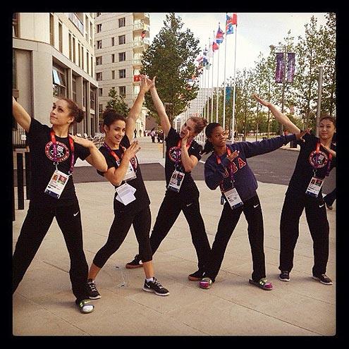 Fierce Five Gymnastics Team