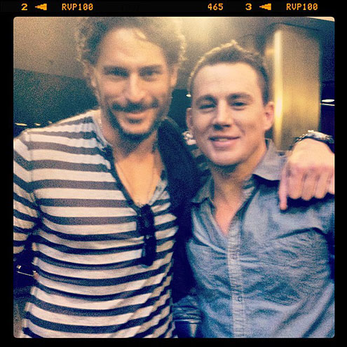 JOE MANGANIELLO & CHANNING TATUM photo | Channing Tatum, Joe Manganiello