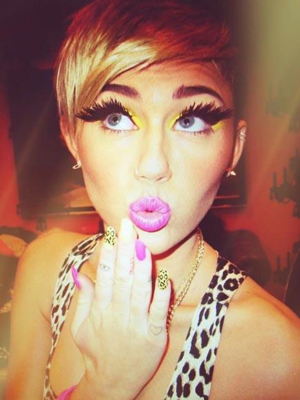 Miley Cyrus's Untamed Twitter Pics