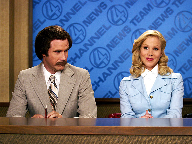 ANCHORMAN: THE LEGEND OF RON BURGUNDY photo | Christina Applegate, Will Ferrell