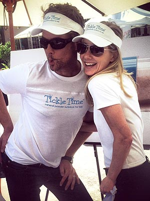 Anne Heche: Winning the Sunblock Wars