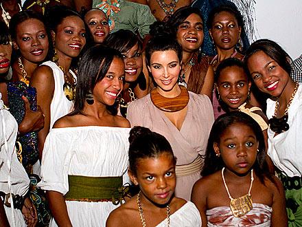 Kim Kardashian: I Did Not Go to a Fashion Show in Haiti | Kim Kardashian