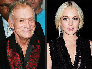 Hugh Hefner Had 'Mixed Emotions' About Lindsay's Playboy Shoot