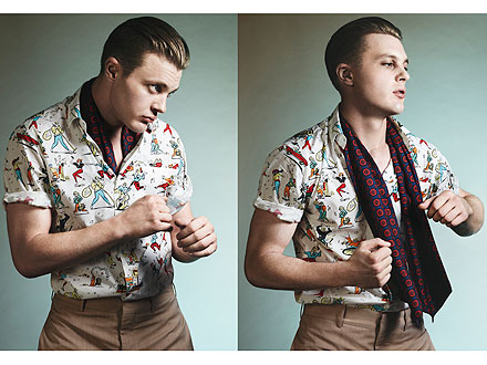 Michael Pitt Prada Ads