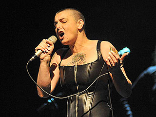 Newlywed Sinead O'Connor Gets Back to Work – in Skintight Leather | Sinead O'Connor