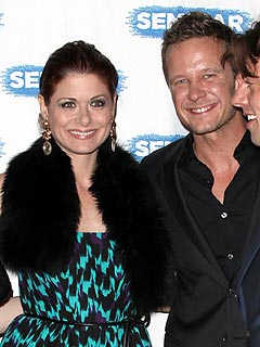 Newly Separated Debra Messing Is Dating Her Costar | Debra Messing, Will Chase